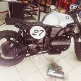 "MOTO- BMW K100 "" CAFE RACER "" ANNO 1991 ISCRITTA ASI"