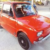 FIAT 126 ALLESTIMENTO ABARTH ANNO 1975